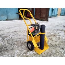 оборудование для автосервисов, Гидравлический съемник, для демонтажа подшипников, втулок, муфт, фланцев, железнодорожных колес, гребных винтов, крыльчаток