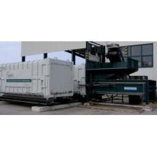 Сверхмощный индустриальный компактор для ТБО WERNER STP 1800