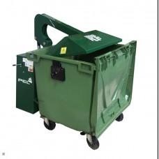 Пресс контейнер PEL 660/1100 для смешанных отходов