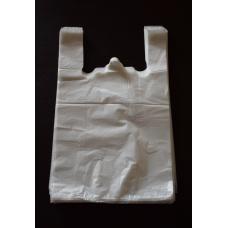 Пакет-Майка белая 280+160х550/20 мкн