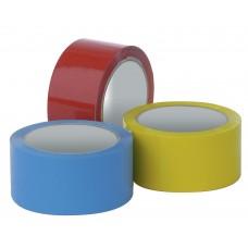 Скотч цветной 55м (оранжевый, красный, синий, зеленый, итд.)